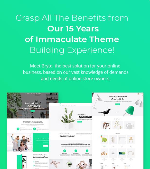 Bryte — Multipurpose Creative & Business WordPress Theme