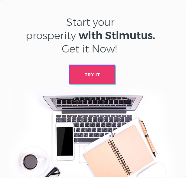 Stimutus - Creative Multihome Elementor Based WordPress Theme - 8