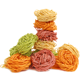 Multicolored pasta 1