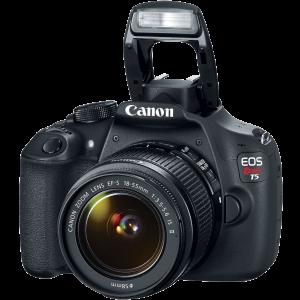 Canon EOS Rebel T5 EF-S 18-55mm IS II Digital SLR Kit 5