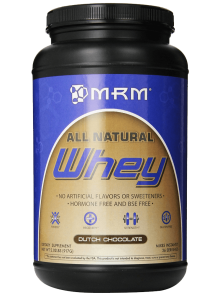 MRM 100% All Natural Whey Dutch Chocolate 2.02 Pounds 1