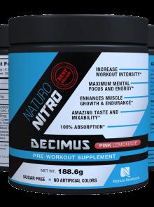 Naturo Nitro Pre Workout Decimus 1