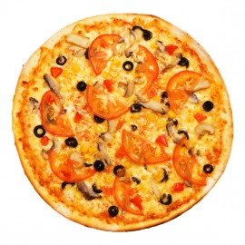 New Heaven-style pizza