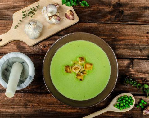 Thyme Soup with Cream