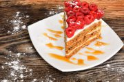 Delicious Raspberry Cake