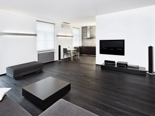 Modern minimalism style sitting room interior