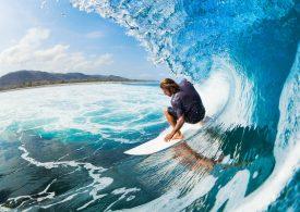Julian Wilson claims the 2017 Billabong Pro Tahiti