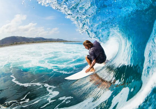 Julian Wilson claims the 2017 Billabong Pro Tahiti