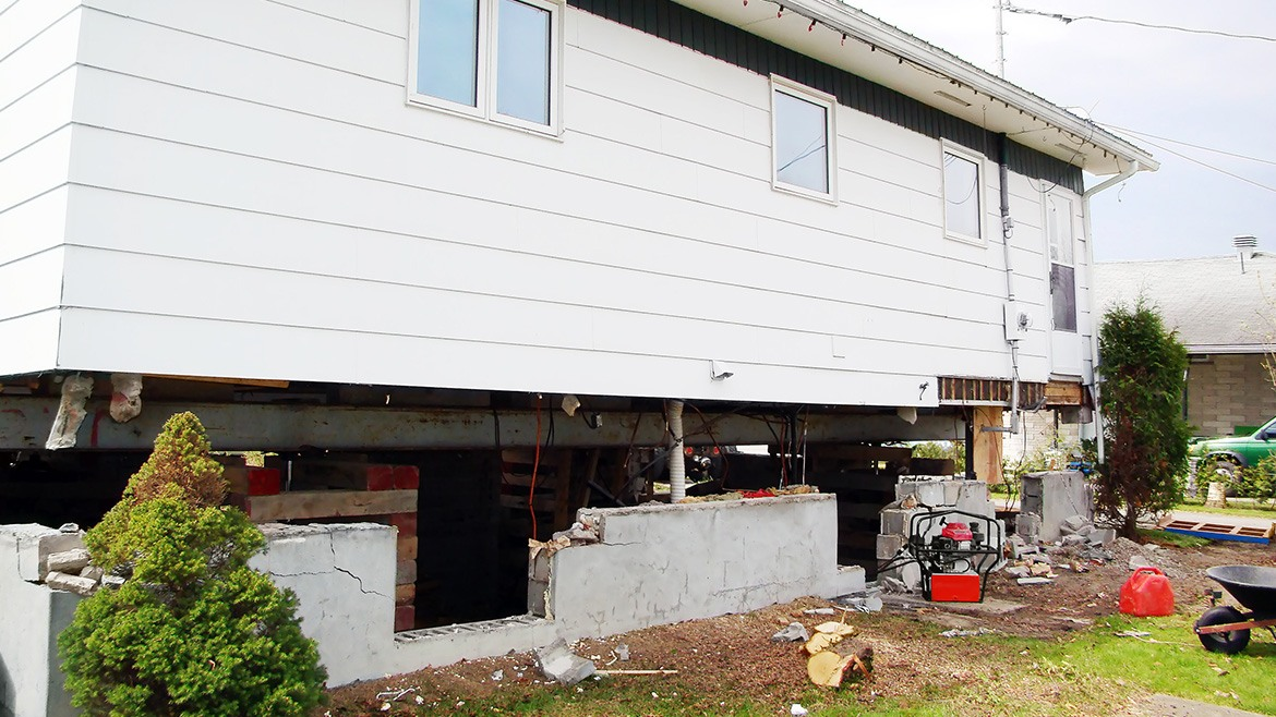 House Leveling and Foundation Repair