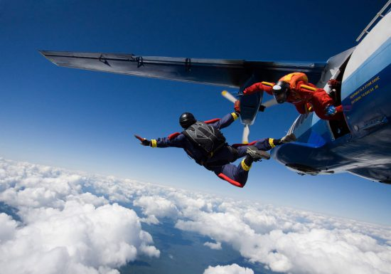 Skydiving Family Has More Than Quarter-Century of Experience