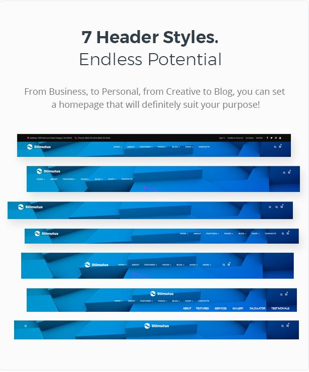 Stimutus - Creative Multihome Elementor Based WordPress Theme - 6