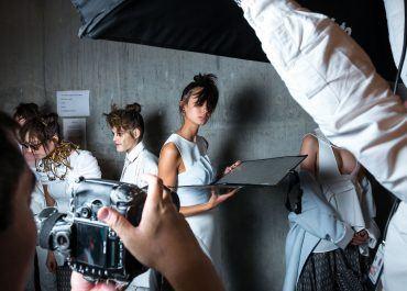 Milky Runway Fashion Show