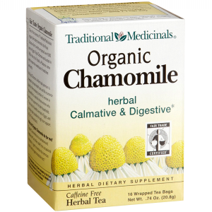 Traditional Medicinals Organic Fair Trade Certified Chamomile Herbal Tea 2