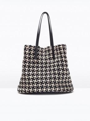 Woven fabric shopper2