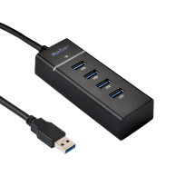 HooToo-USB-3.0-4-Port-HUB-(Bus-Powered,-Built-in-1ft-USB-3.0-Cable)-HT-UH007_1