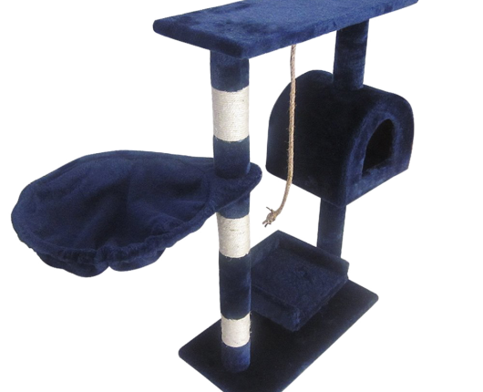 Leopet KBM001 2grau Cat Tree Scratching Post Kitten Climbing Excercise