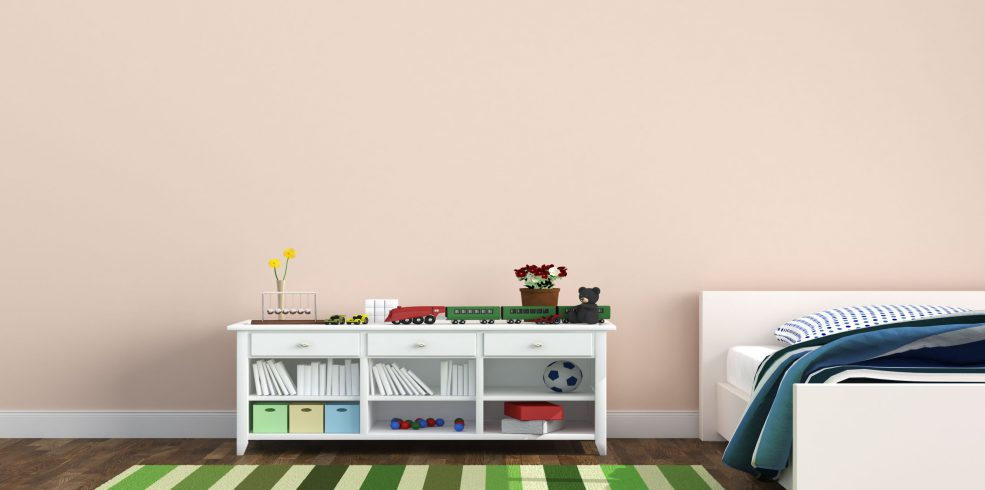 Furnishing a kids' room: dos and do-nots