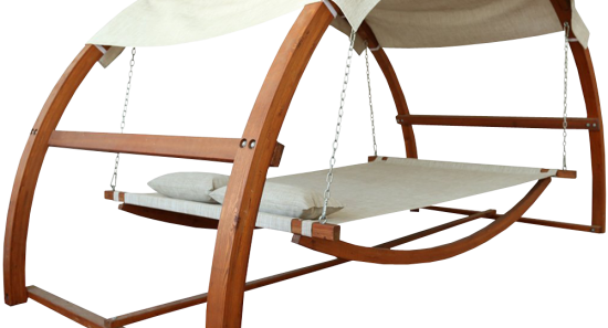 Leisure Season SBWC402 Swing Bed with Canopy_3