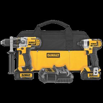 DEWALT DCK290L2 20-Volt MAX Driver Combo Kit (3)