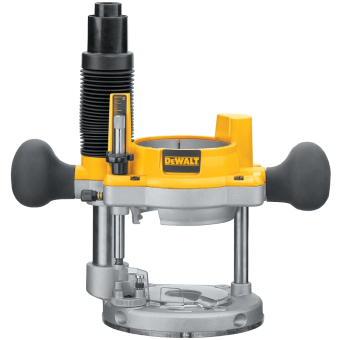 DEWALT DW618B3 Horsepower Plunge Base and Fixed Base (3)