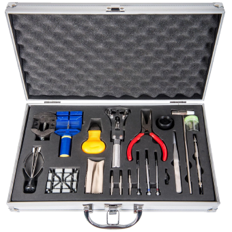 LGI Premium Watch Repair Kit with Reusable Aluminum Box 1