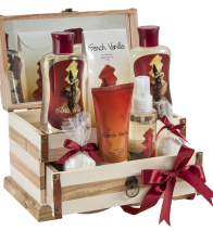 French Vanilla Bath Gift Set 1