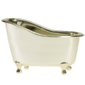 White Rose Jasmine Gold Tub Spa Bath Gift Set 3