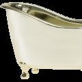 White Rose Jasmine Gold Tub Spa Bath Gift Set 6