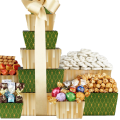Wine Country Gift Baskets Tower of Sweets 4