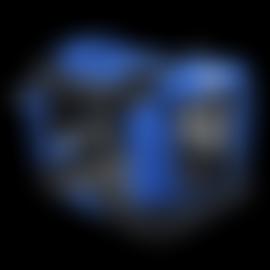 Easipet Fabric Pet Carrier, Medium, Blue_1