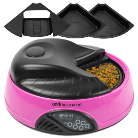 Andrew James 4 Day  Meal Automatic Pet  (6)