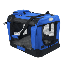 Easipet Fabric Pet Carrier, Medium, Blue_1