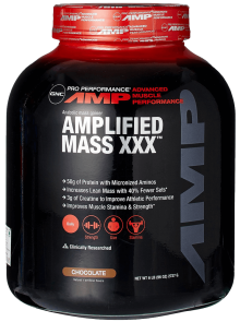 GNC Pro Performance AMP Amplified Mass XXX Weight Gainer 1
