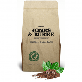 Jones & Burke. RATED Ground Coffee THE PUREST & FRESHEST Ground Coffee 500g (3)