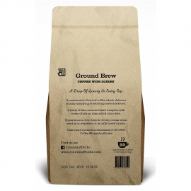 Jones & Burke. RATED Ground Coffee THE PUREST & FRESHEST Ground Coffee 500g (4)