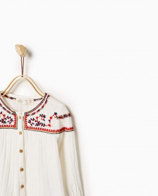 Embroidered shirt 1