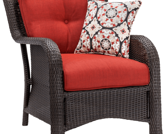 Hanover Strathmere 6-Piece Outdoor Deep-Seating Lounge Set 11