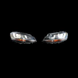 Volkswagen Golf 7 Bi Xenon Headlights Left Right LED RHD VW OEM 5G1941033 1