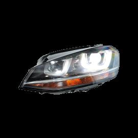 Volkswagen Golf 7 Bi Xenon Headlights Left Right LED RHD VW OEM 5G1941033 2