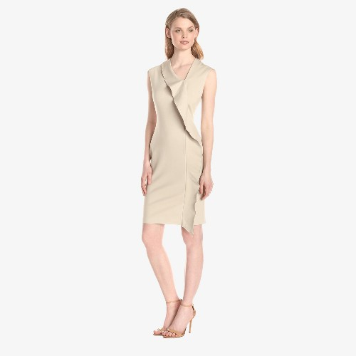 Anne-Klein-Women's-Cap-Sleeve-Asymmetrical-Neck-Ruffle-Dress_01