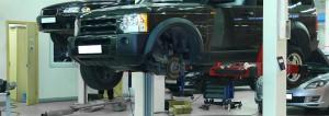 car under repair