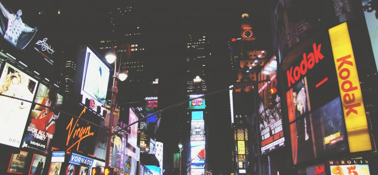 Ads to be banned at the Times Square?