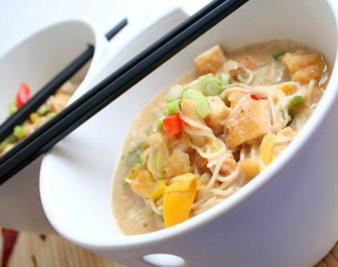 Tofu with Morel Mushrooms