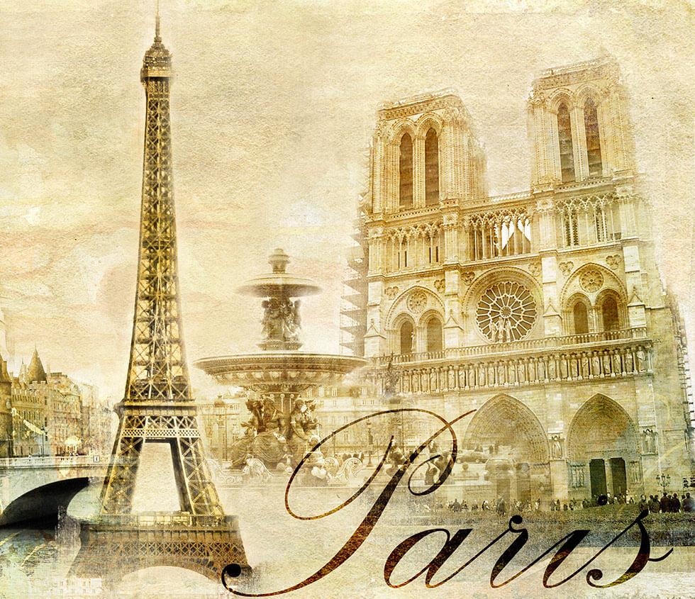 Картинка, ретро города открытки
