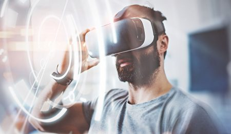 Watching Sports Live Via VR Headset?