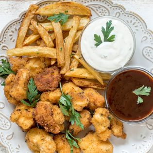 Fish & Chips w Sauce