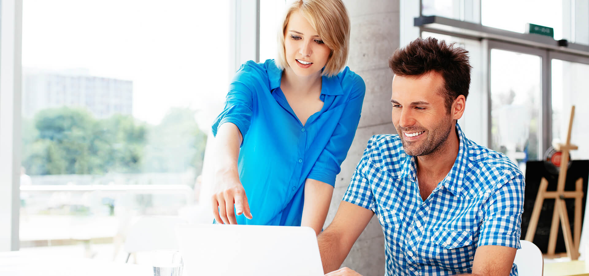 Managing an internal data server and website server