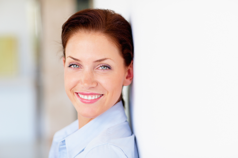 bigstockphoto_A_Happy_Business_Woman_Smiling_5047890