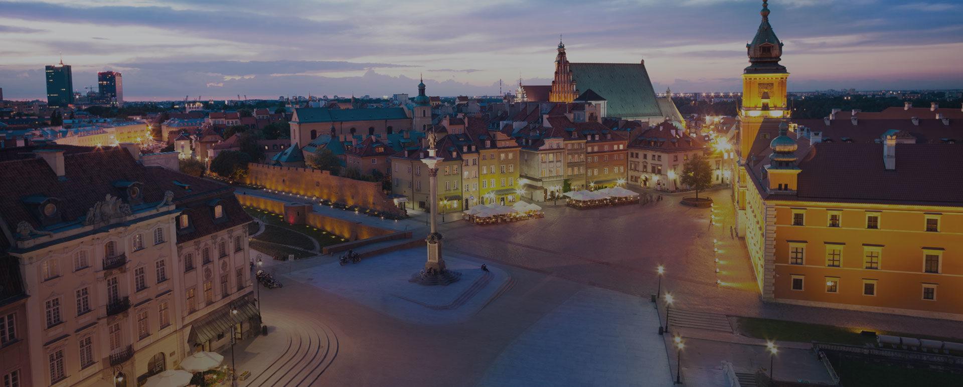 Polish Cities Glare